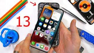 The Apple iPhone 13 Pro Max has TWO Secrets inside? - Teardown!