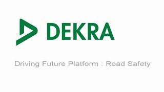 DEKRA - Driving Future Platform - Road Safety