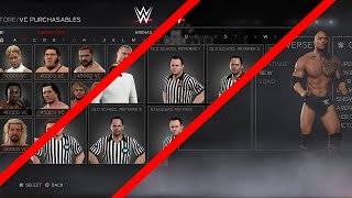 WWE 2K17: Main Menu, All VC Purchasables, Different Refs & More (Video)