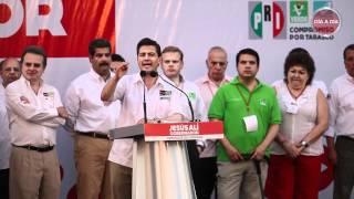 preview picture of video 'Peña Nieto - Resumen del Discurso durante el encuentro en Villahermosa, Tabasco'