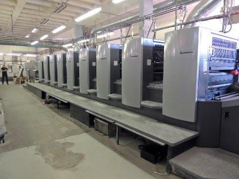 Heidelberg Speedmaster 102-8+LX Impresora Offset Usada