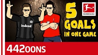 The Ultimate Luka Jovic 5 Goal Song   Powered By 442oons