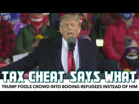 Trump Fools Crowd Into Booing Refugees Instead Of Him