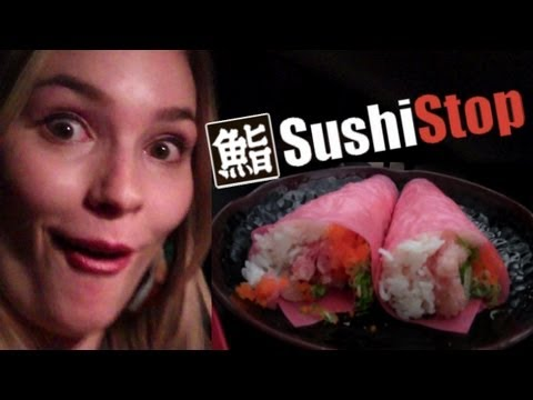 Sushi Stop Hollywood REVIEW!