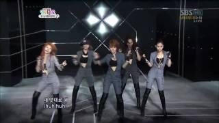 [HD] Who's Next & Huh - 4Minute & BEAST (B2ST) 100523