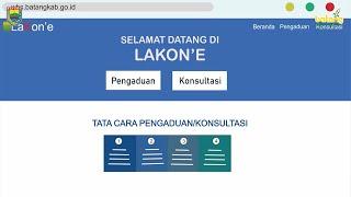 Aplikasi LAKON'E untuk Wujudkan Pemerintah Kabupaten Batang Bebas Gratifikasi
