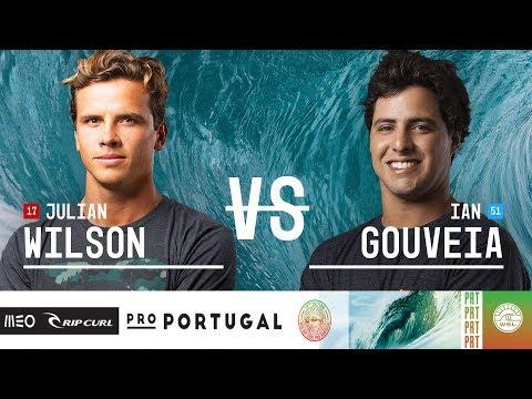Julian Wilson vs. Ian Gouveia - Round Three, Heat 12 - MEO Rip Curl Pro Portugal 2018