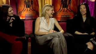 Charlie's Angels: Cameron Diaz, Drew Barrymore & Lucy Liu Interviews