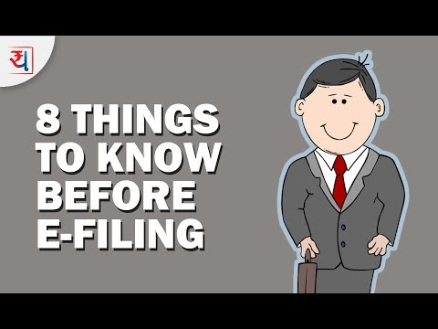 8 Things to Know before filing Income Tax Returns | Check points before e-filing