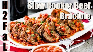 Italian | SLOW COOKER BEEF BRACIOLE | How To Feed A Loon