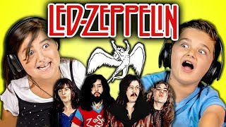 KIDS REACT TO LED ZEPPELIN