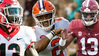 The Best of Week 2 of the 2018 College Football Season - Part 1