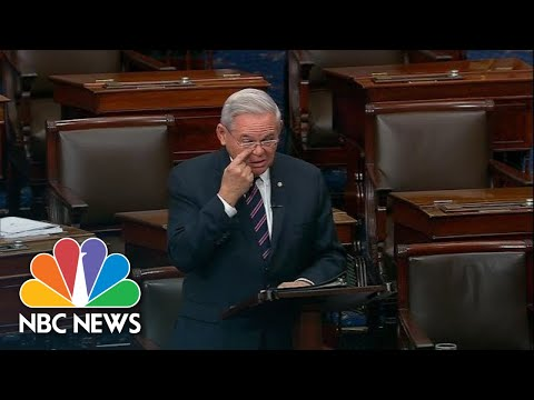 Senator Breaks Down Over Armenian Genocide Bill Passing | NBC News