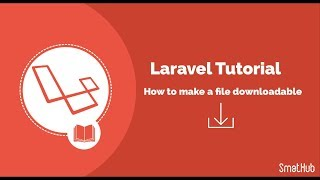 How to make a file downloadable in Laravel