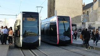 preview picture of video 'French Trams: Tours,  26Sep14'
