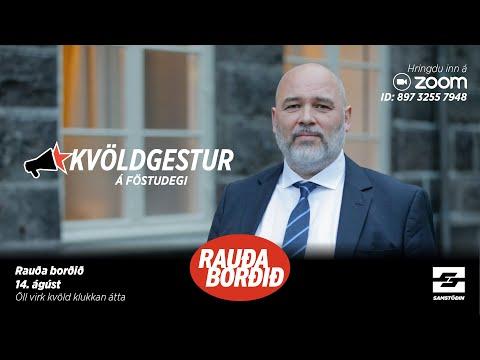 Föstudagsgestur við Rauða borðið: Logi Einarsson