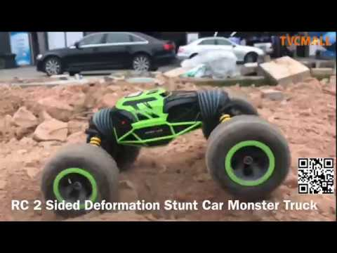 1:10 Scale Double-sided RC Car All-terrain Vehicle Climbing Car-  Free Shipping+Coupon