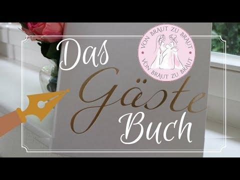 Das Gästebuch für die Hochzeit