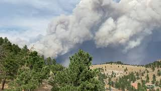 Scenes of Smoke From the Largest Wildfire in Colorado's History