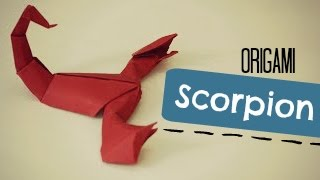 How To Make An Origami Scorpion Jozsef Zsebe