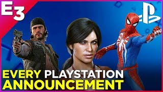 PLAYSTATION Press Conference in Under 7 Minutes! —Polygon @ E3 2017