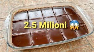Torta Fantastica al Cioccolato RICETTA PERFETTA!