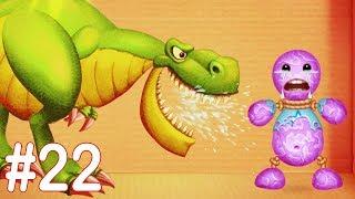 Kick The Buddy - Gameplay Walkthrough Part 22 - New Jurassic Dinosaurs T- REX