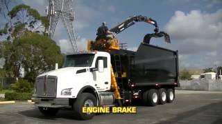 2017 Kenworth T880 Grapple Truck