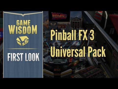 Universal Pack First Look Video :: Pinball FX3 综合讨论