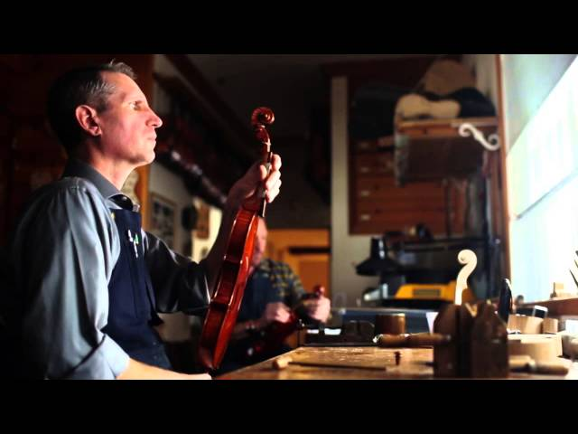 "Trailer - Finding Bespoke: ""The Violinmaker"" - A film by Michael Bernard"