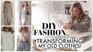 TRANSFORMING OLD CLOTHES! DIY Fashion...