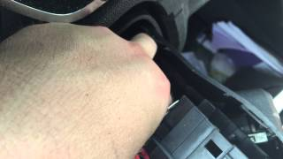 How to get your ignition key unstuck in a Chevy Traverse.