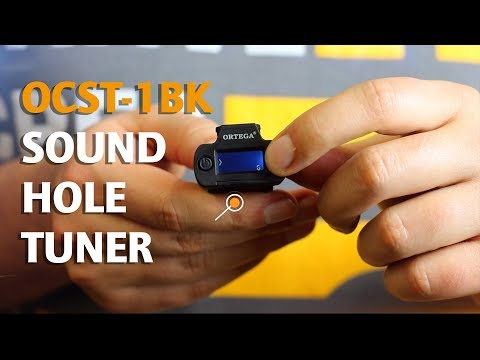 ORTEGA GUITARS | OCST-1BK SOUNDHOLE TUNER (USEFUL HELPERS SERIES)