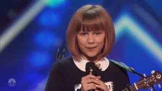 Grace VanderWaal Golden Voice America's Got Talent 2016 Miracle