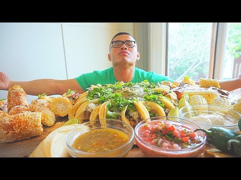 MEXICAN FEAST | Mexican Food | MUKBANG | QT