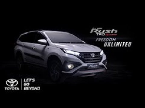 All new Toyota Rush/ Daihatsu Terios