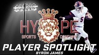 Player Spotlight: Byron James | John Ehret High School Football Highlights