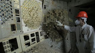 video: Exclusive: First look inside Chernobyl control room where disaster began as it opens to tourists