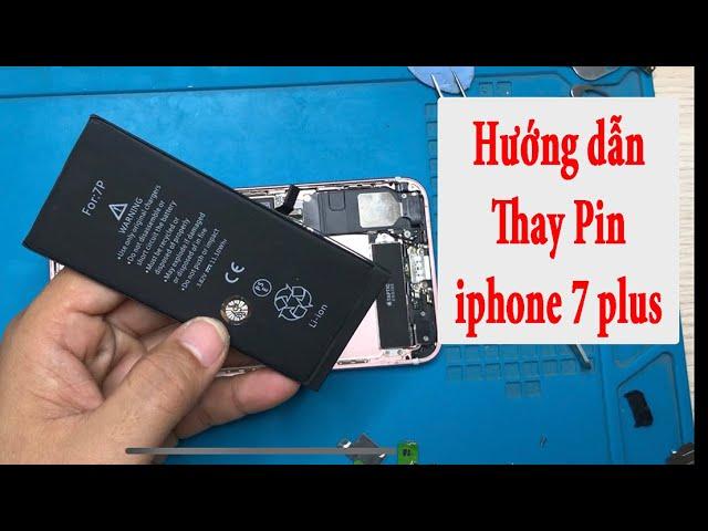 Thay pin iphone 7plus