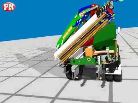 Funcionamiento Gruas Hidraulicas Articuladas PM