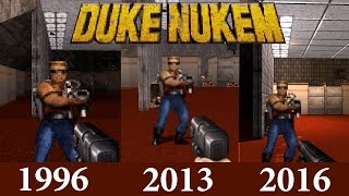 Duke Nukem 3D 20th Anniversary Comparison: World Tour vs Original vs Megaton
