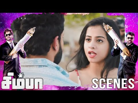 Mahesh confess to simba that he loves madhu | Simba(சிம்பா) Movie Scenes | Bharath, Premgi