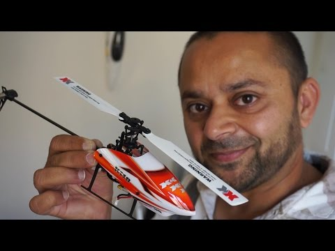 Mini RC Electric 3D Helicopter XK K100 Review