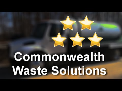 Commonwealth Waste Solutions Reviews 804 781 4999