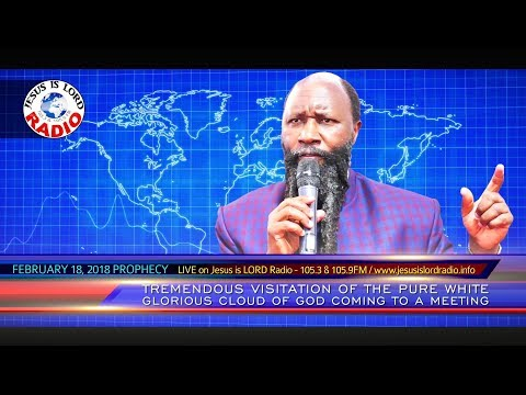 PROPHECY OF A TREMENDOUS VISITATION OF THE PURE WHITE GLORIOUS CLOUD OF GOD COMING TO A MEETING