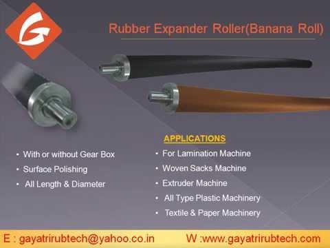 Rubber Rollers in Nashik, रबड़ का रोलर, नासिक