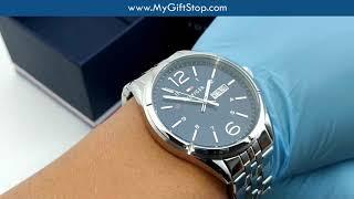 5853a803e9e Tommy Hilfiger 1791061 Charlie Blue Dial Steel Bracelet Men s Watch Video -  hmong.video