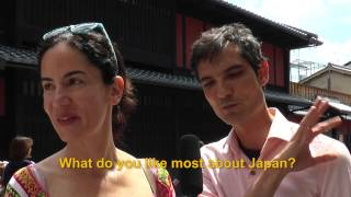 Travelers' Voice of Kyoto:GION Area Interview 003