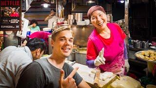 Netflix STREET FOOD Market of Seoul – FULL Gwangjang Market Tour!