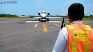 preview picture of video 'PT. Gapura Angkasa - PGK, handling Cessna 680 Citation Sovereign'